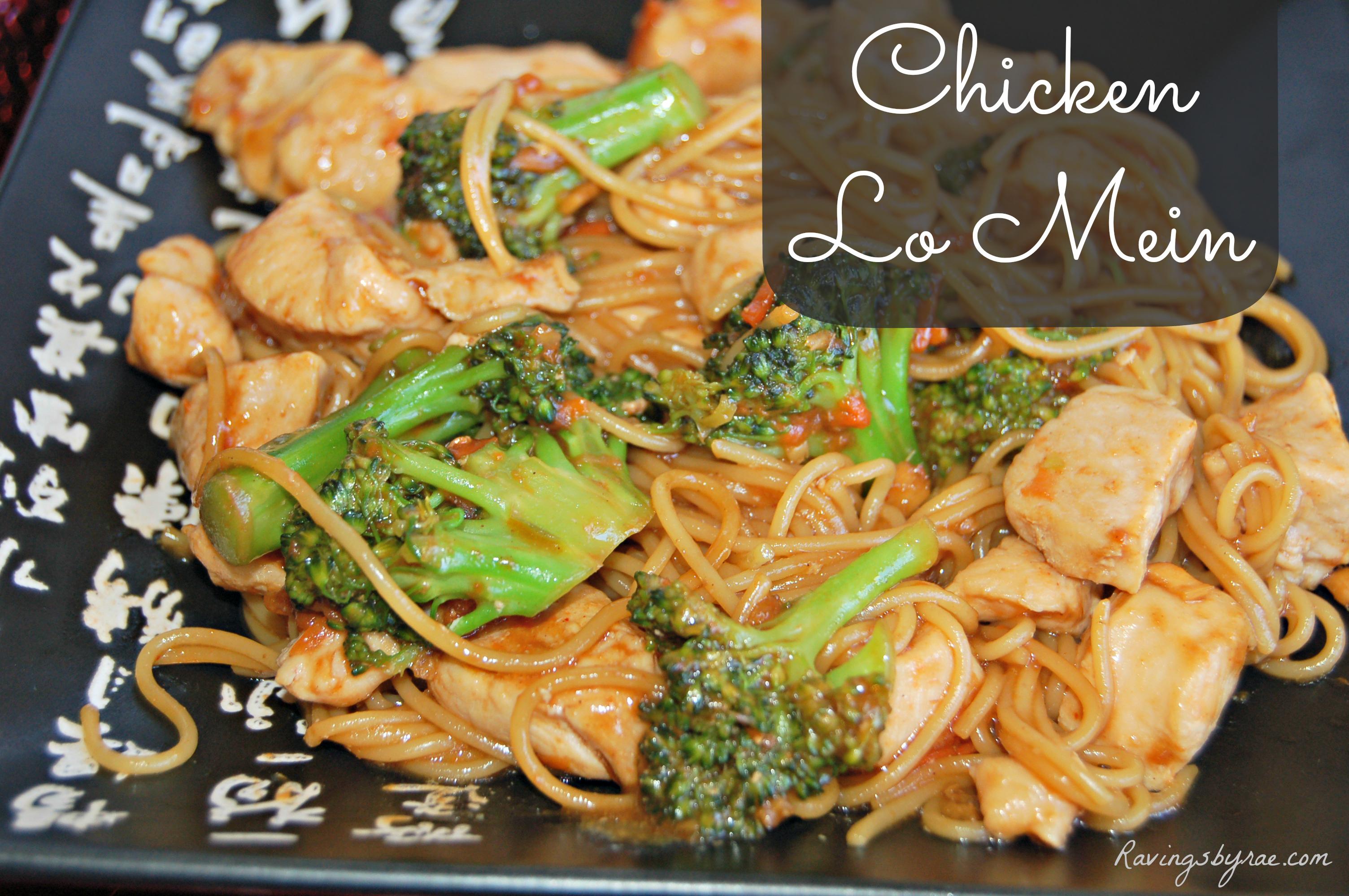 Chicken-Lo-Mein