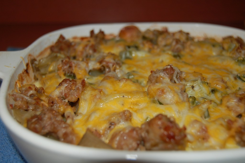bake cheesy ranch potato bake tomato pasta and potato bake sausage ...