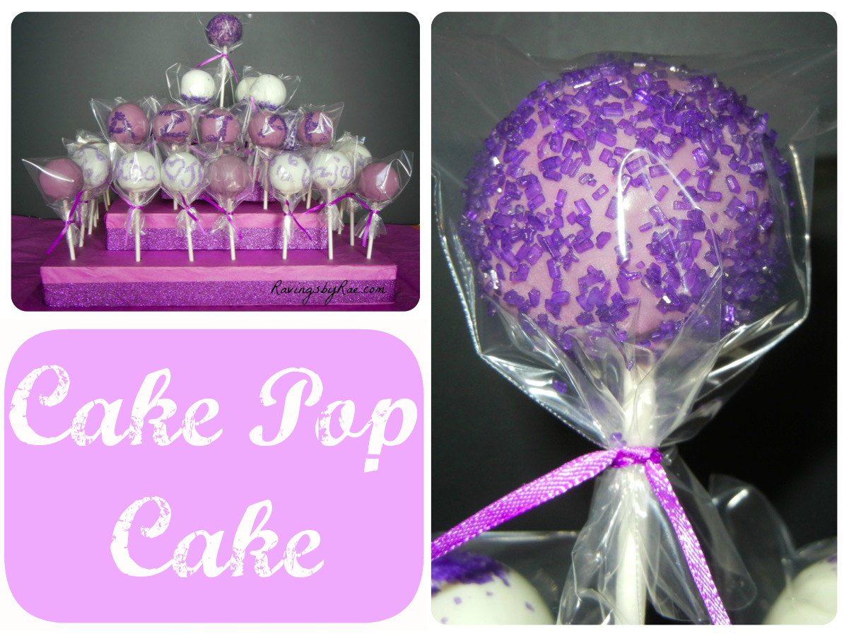 Super Easy Girly And Pretty Purple Cake Pop