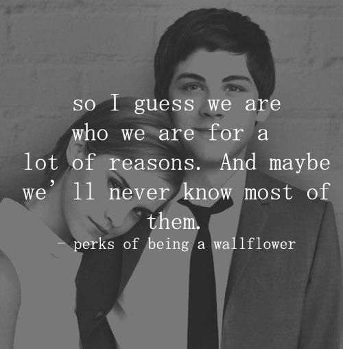 Perks of Being A WallFlower quote Archives - Sarah Rae Vargas