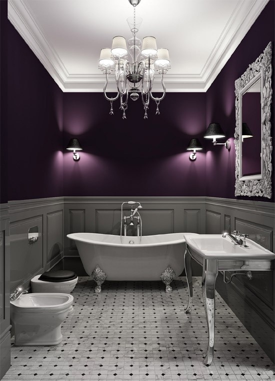 purple and gray bathroom archives sarah rae vargas