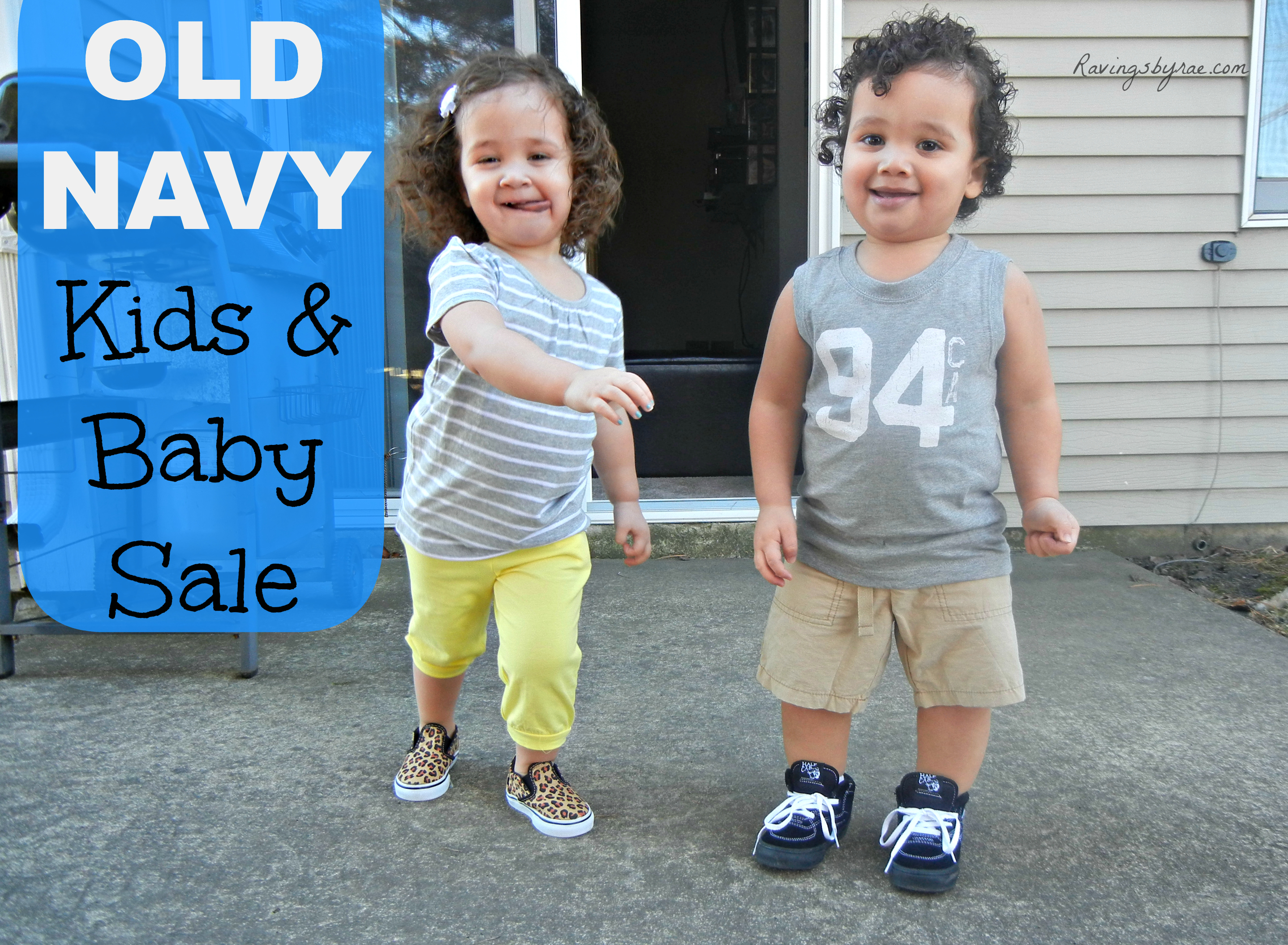 Building My Kids\' Spring Wardrobe With Old Navy - Sarah Rae Vargas