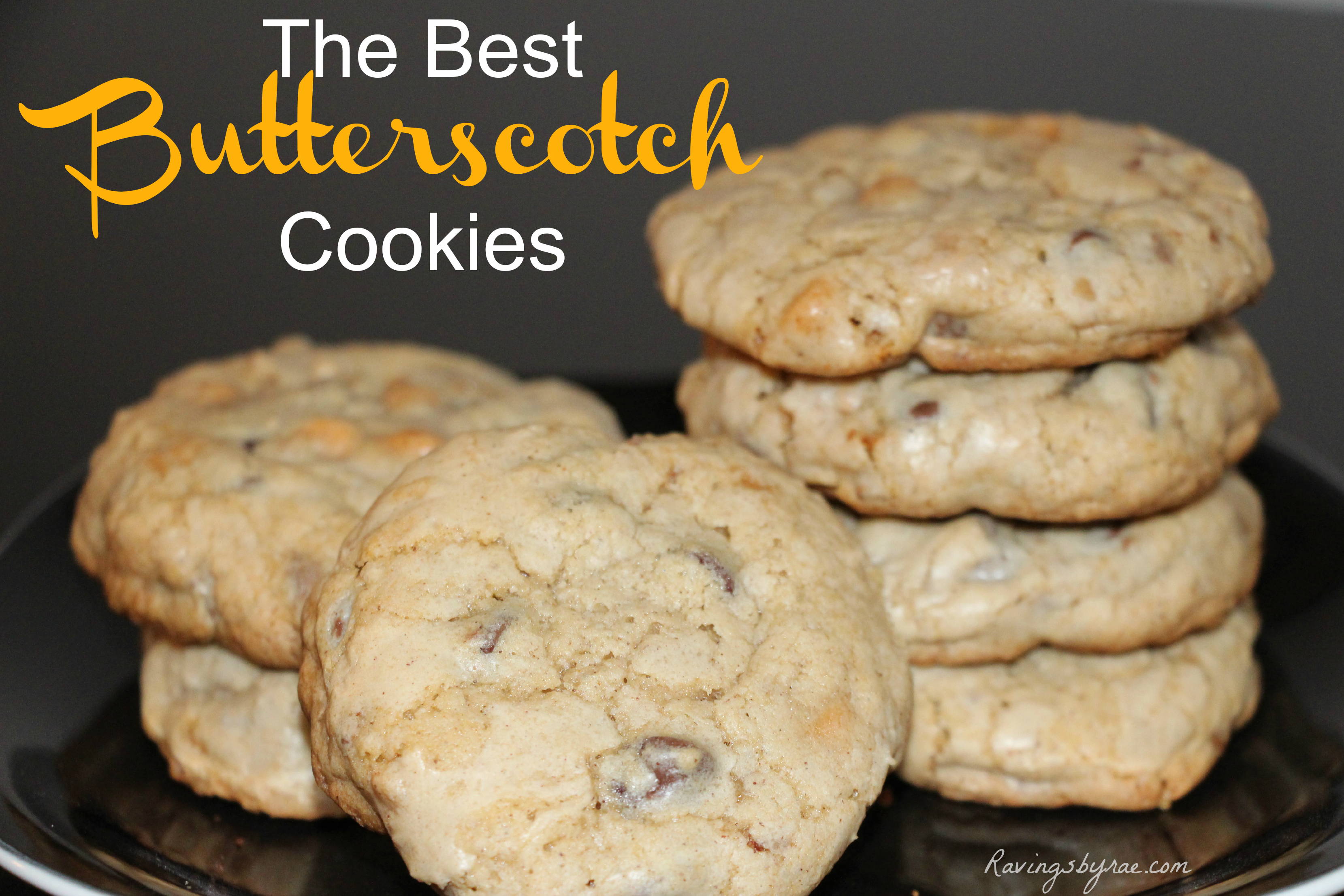 The Best Butterscotch Cookies