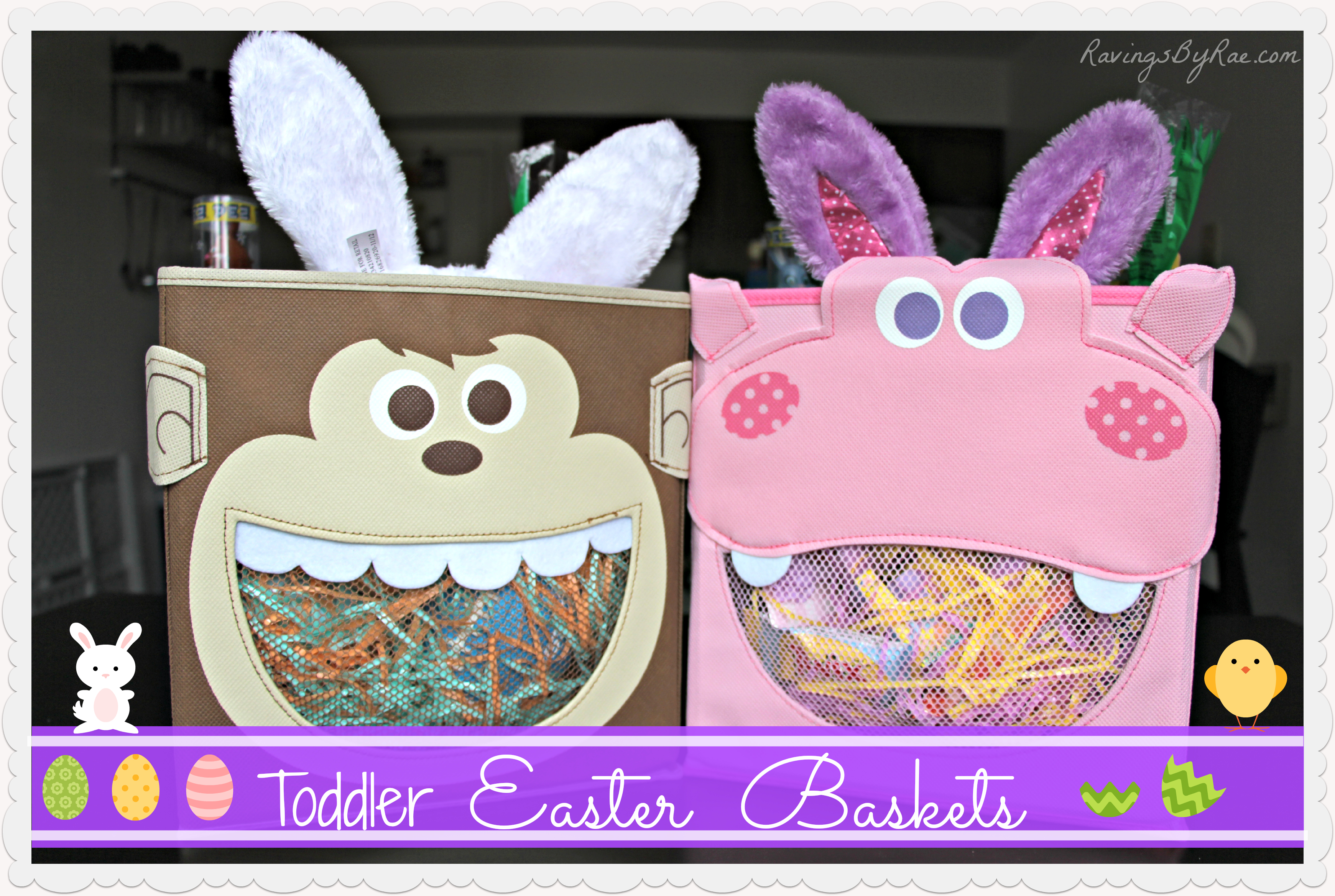 Toddler easter baskets non traditional sarah rae vargas toddler easter baskets 2 negle