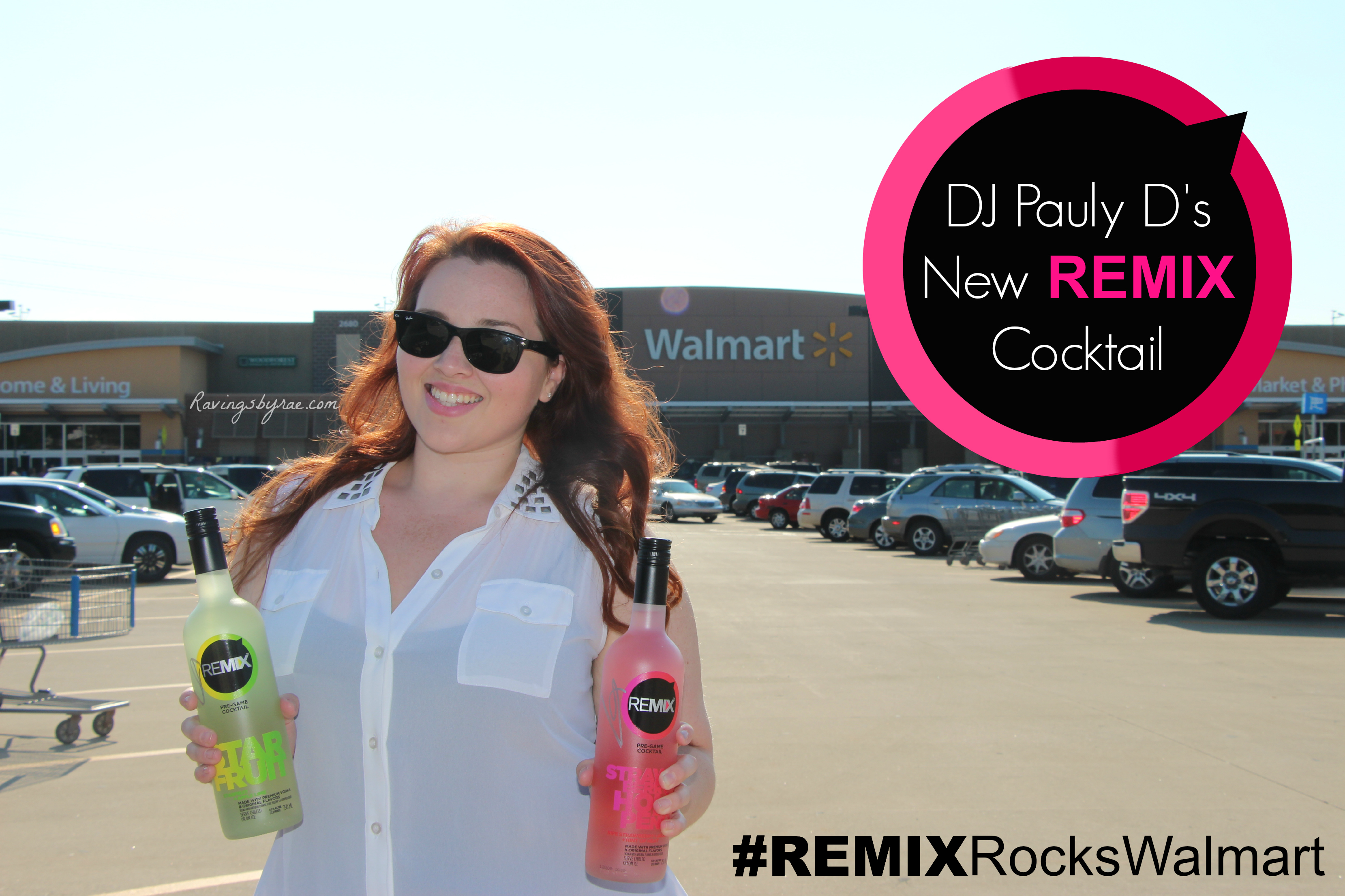 DJ Pauly D's New REMIX Cocktail [Event at Walmart]