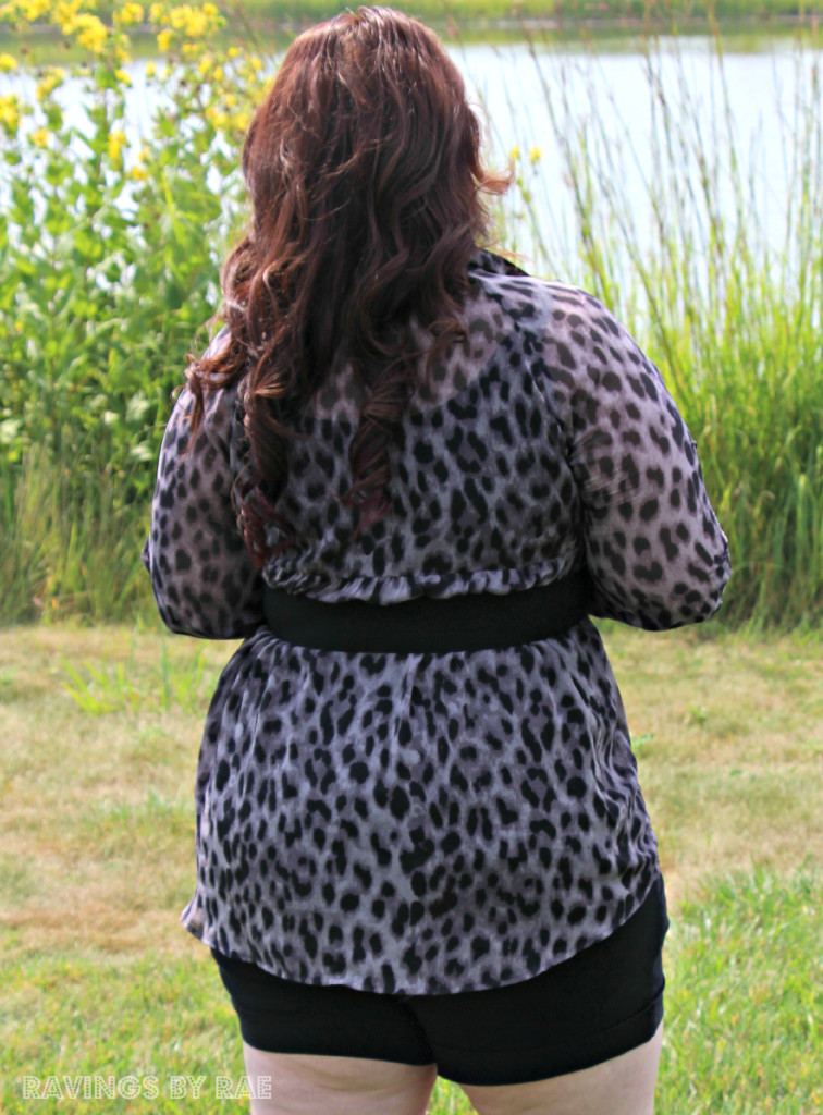 Plus Size OOTD Leopard and Shorts