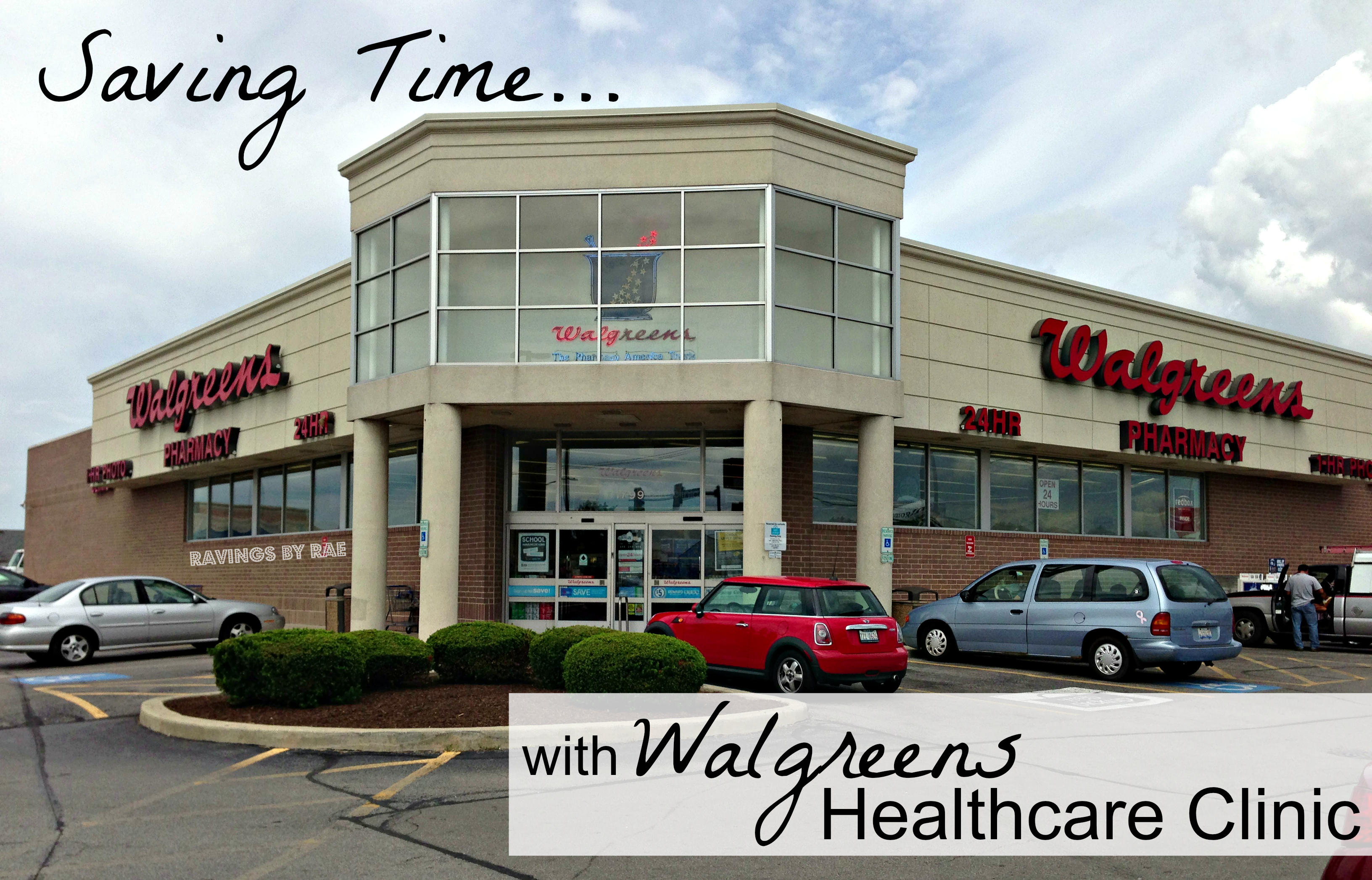 Saving Time at the Walgreens Healthcare Clinic #shop