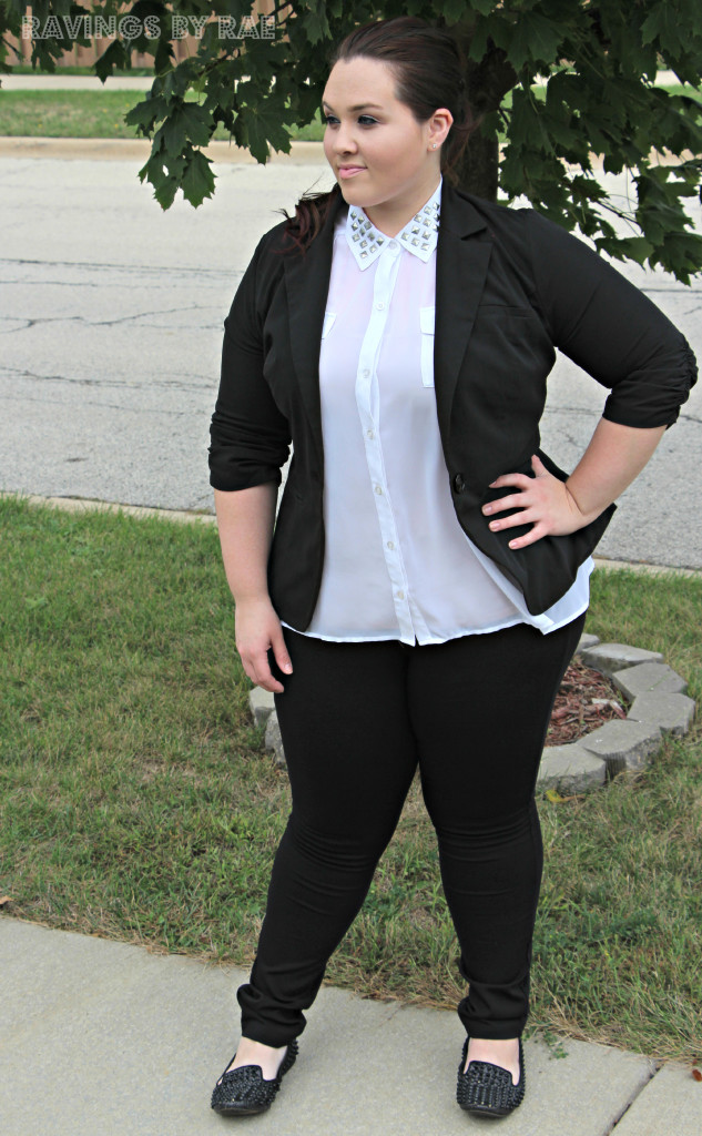 Plus Size OOTD Black & White Trend 4