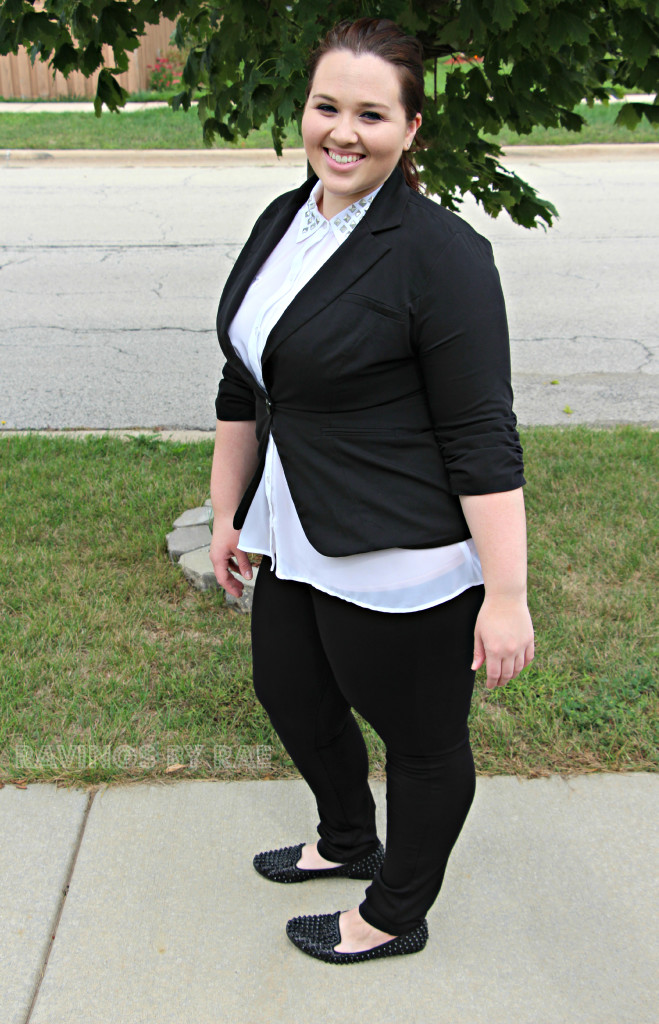 Plus Size OOTD Black & White Trend 5