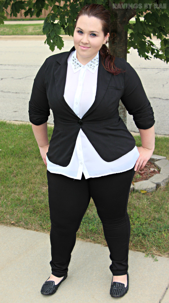 Plus Size OOTD Black & White Trend 6