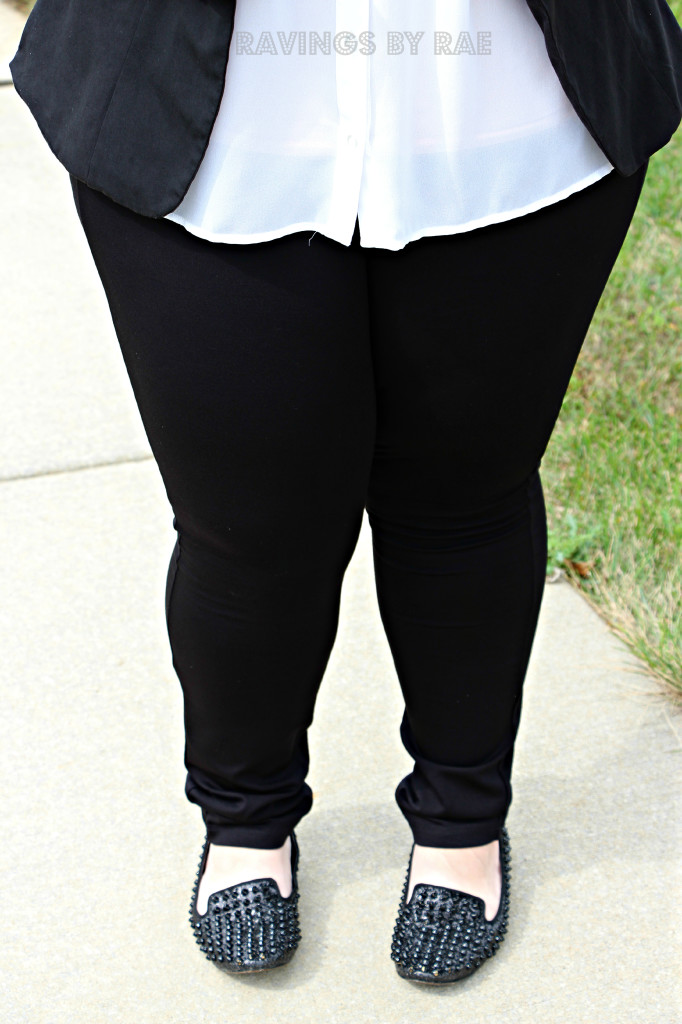 Plus Size OOTD Black & White Trend