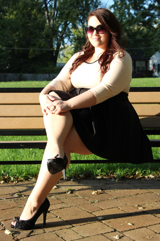 Plus Size OOTD: Work Day to Date Night