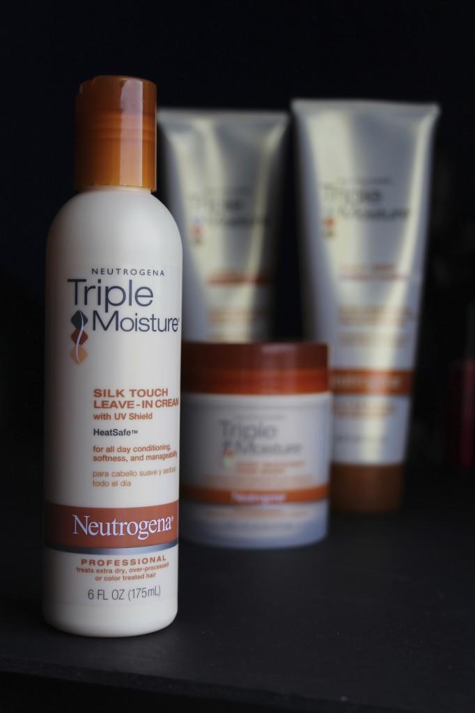Cur Hair Care Routine Neutrogenahair This Triple Moisture Silk Touch Leave In