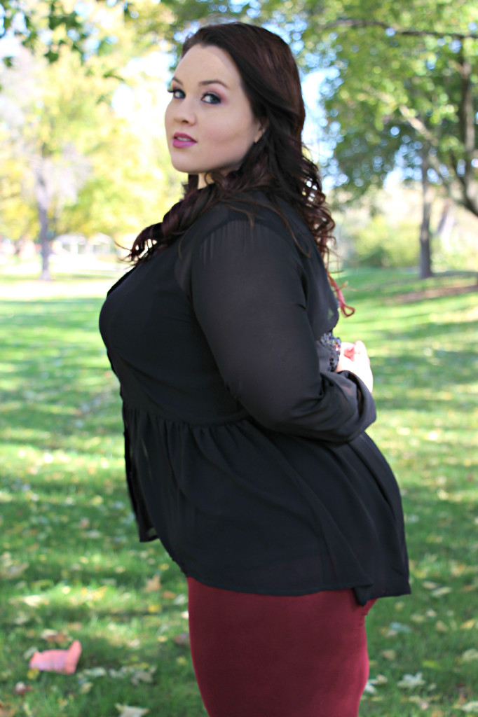 Plus Size OOTD Dark Romance 12