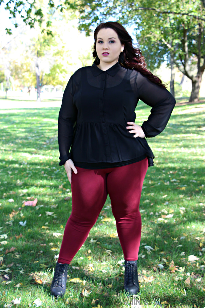 Plus Size OOTD Dark Romance 3