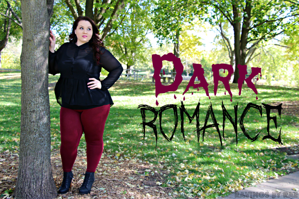 Plus Size OOTD Dark Romance 5