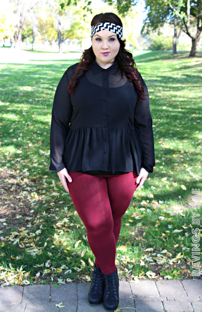 Plus Size OOTD Dark Romance