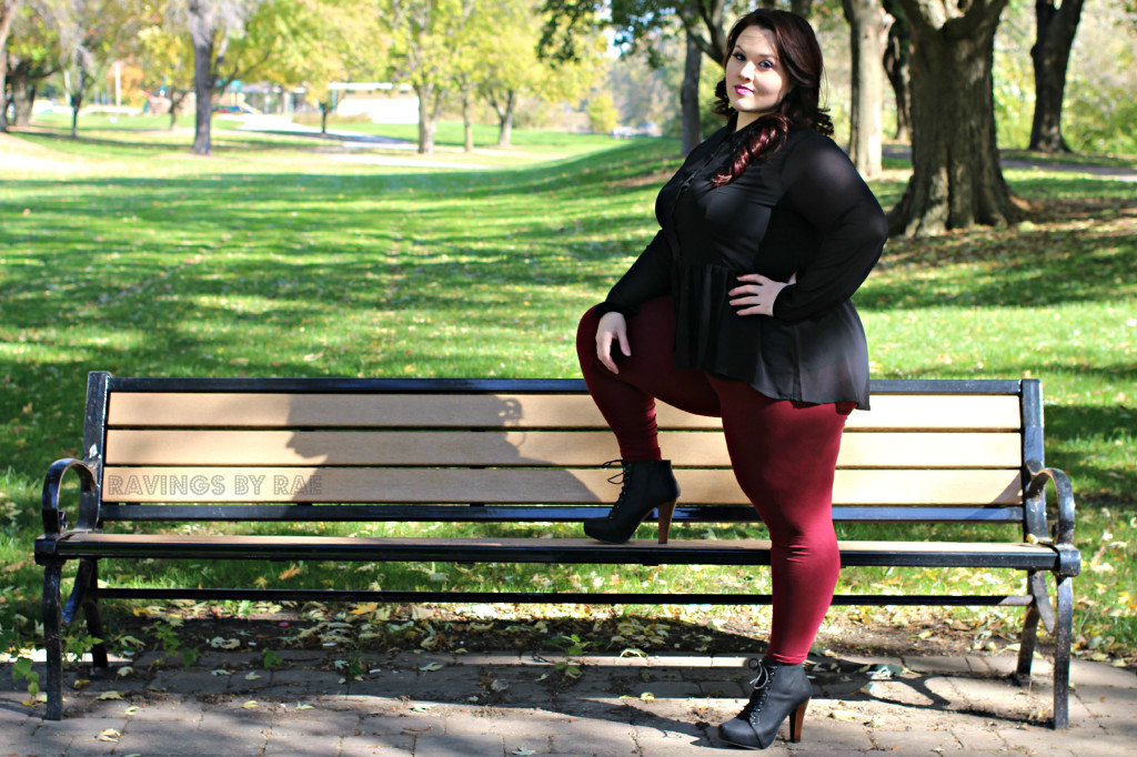 Plus Size OOTD Dark Romance 7