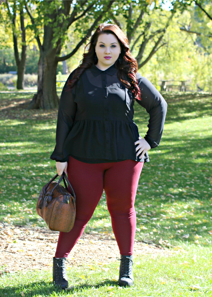 Plus Size OOTD Dark Romance 9