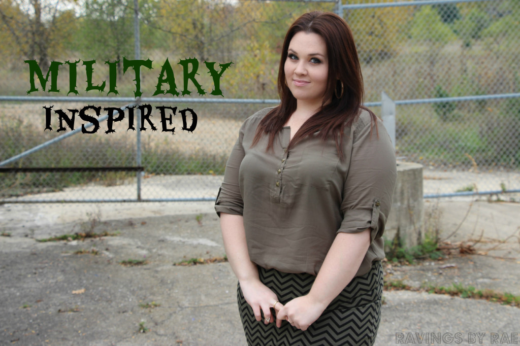 Plus Size OOTD Military Inspired 6