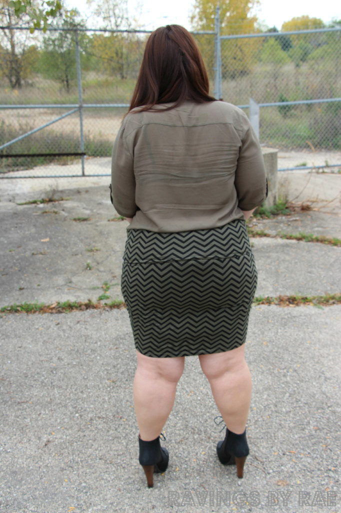 Plus Size OOTD Military Inspired 7