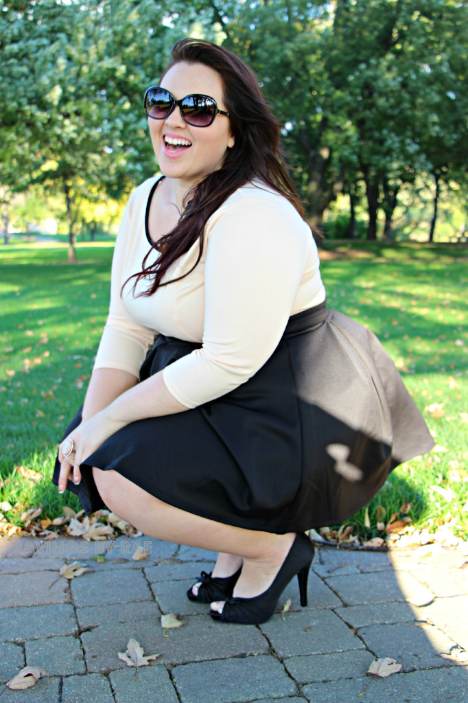 Plus Size OOTD Work Day to Date Night 4