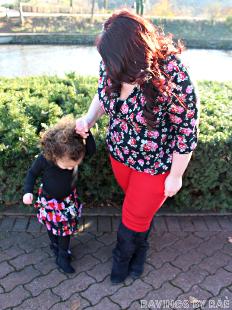 Plus Size + Toddler OOTD Birthday Steez 2