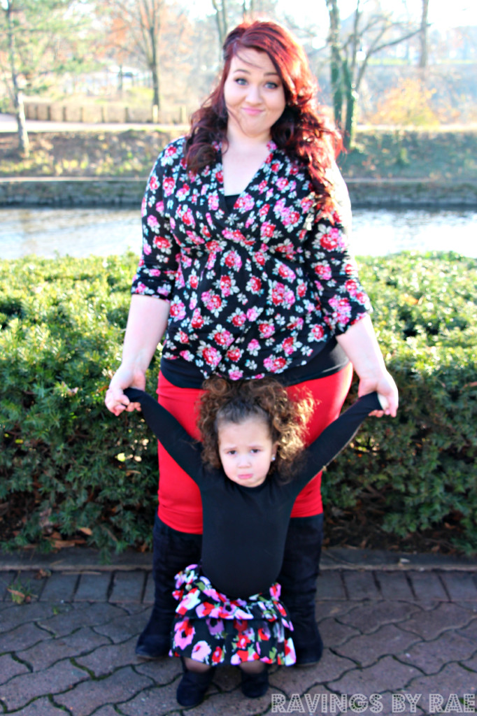 Plus Size + Toddler OOTD Birthday Steez 3
