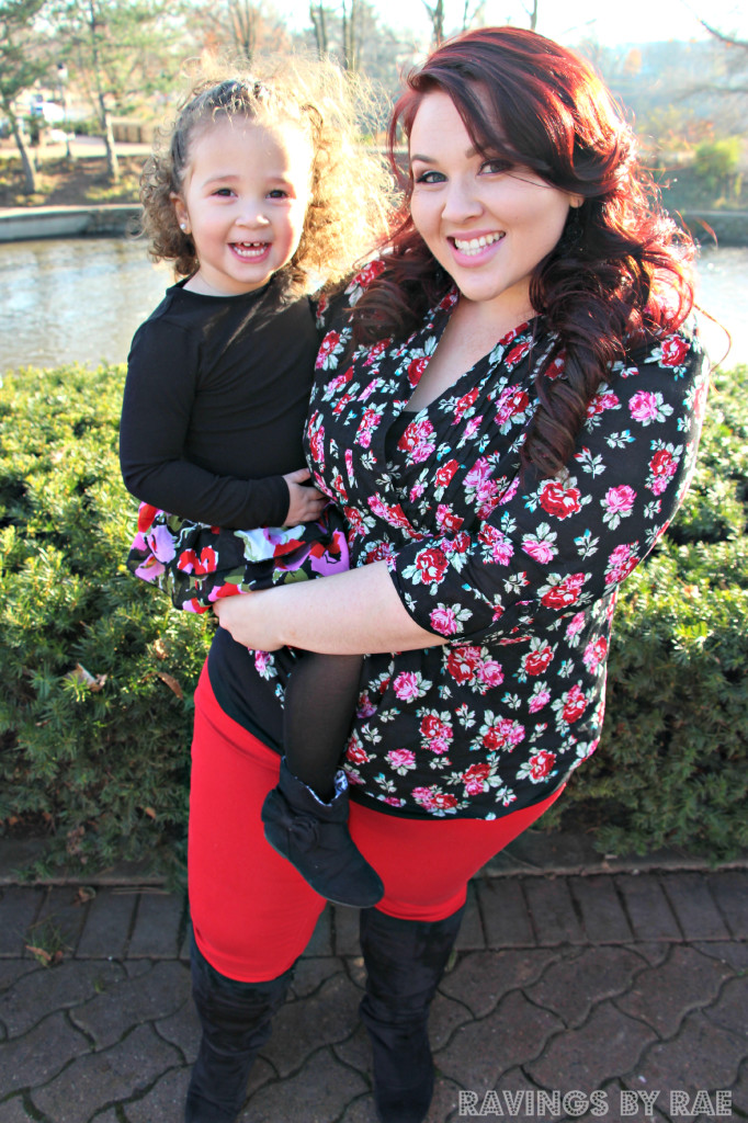 Plus Size + Toddler OOTD Birthday Steez 4