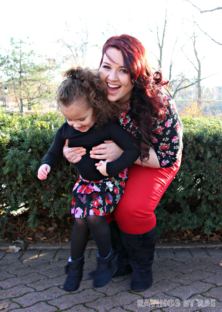 Plus Size + Toddler OOTD Birthday Steez