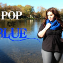 Plus Size OOTD Pop of Blue 6