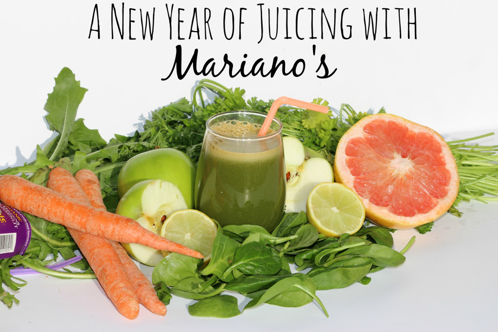 A New Year of Juicing with Mariano's #shop