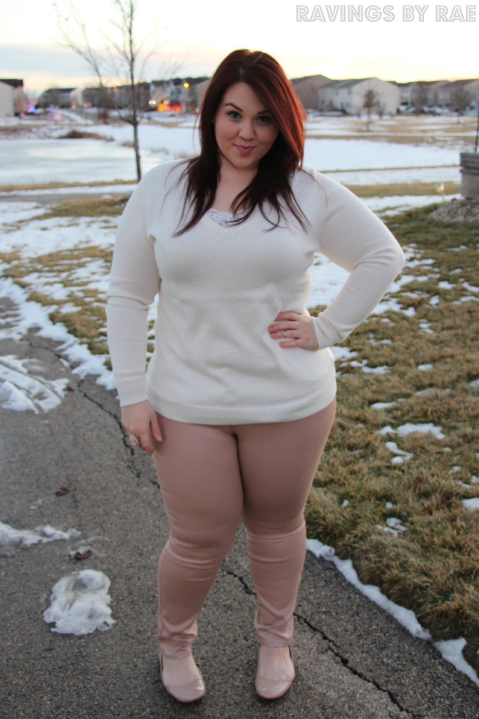 Plus Size OOTD Casual Cozy 4