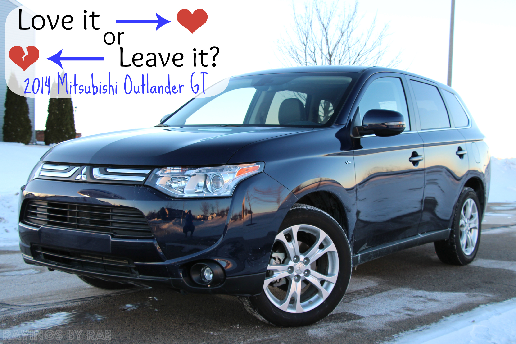 Love It or Leave It 2014 Mitsubishi Outlander GT