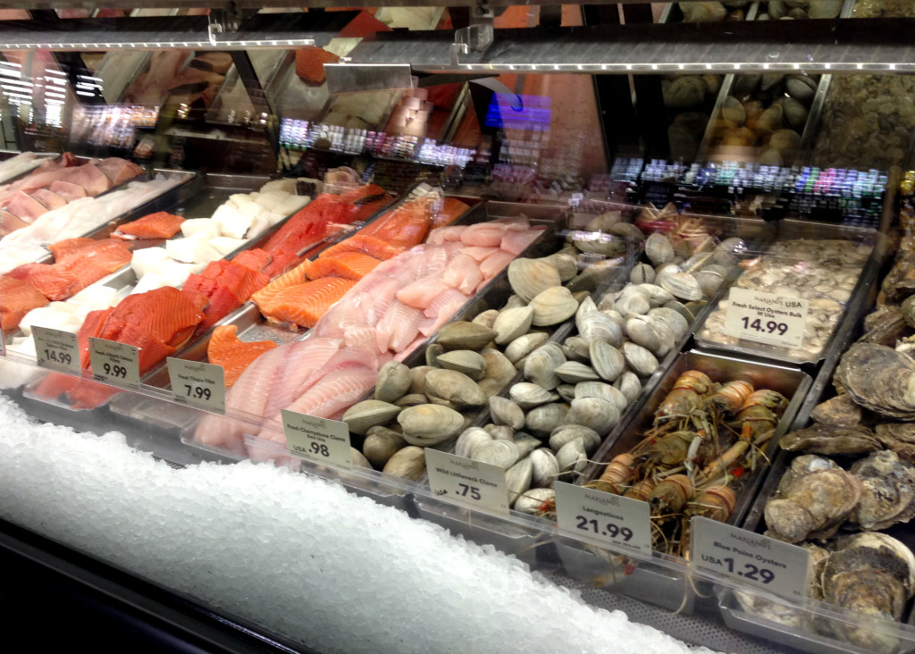 Image gallery seafood store for Fish market chicago