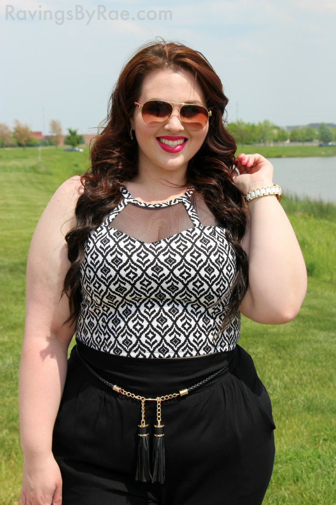 Plus Size OOTD Crop Top & Living Doll LA  2
