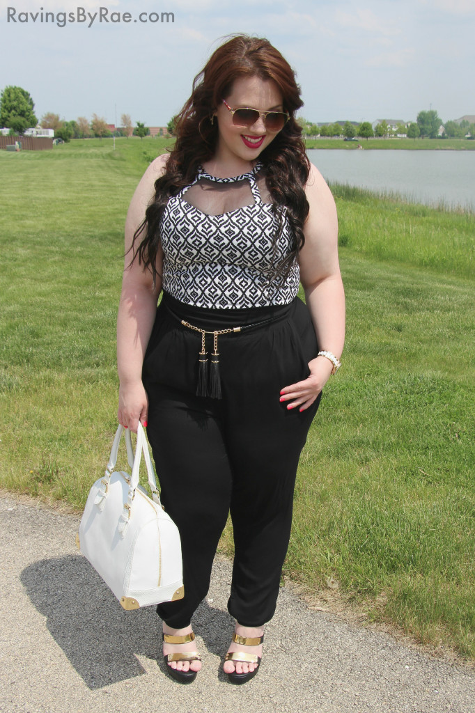 Plus Size OOTD Crop Top & Living Doll LA 3