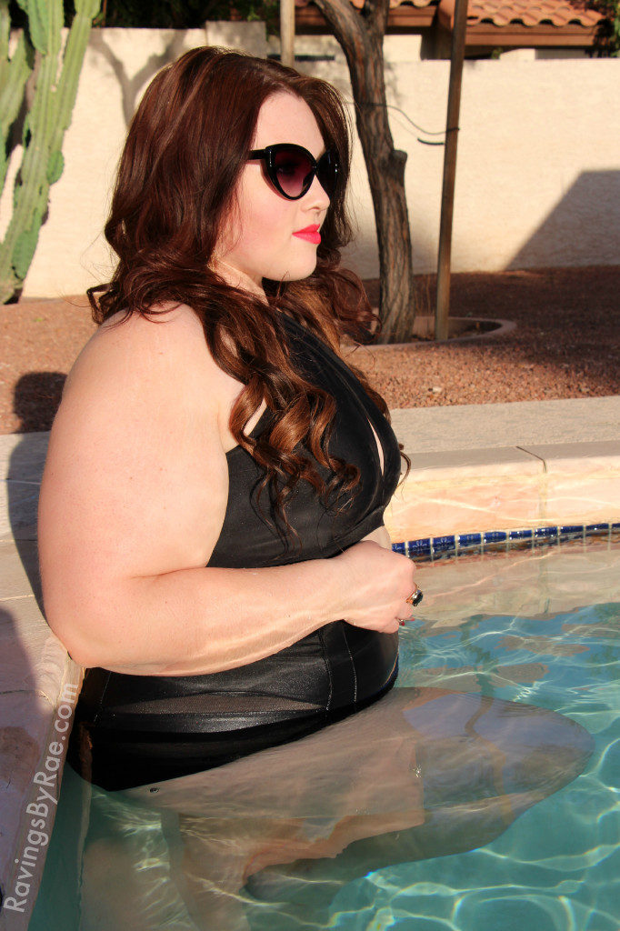 Plus size swimwear lookbook 12