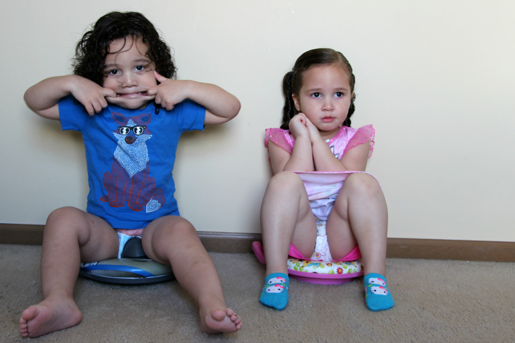 Boys And Girls Toilet Training