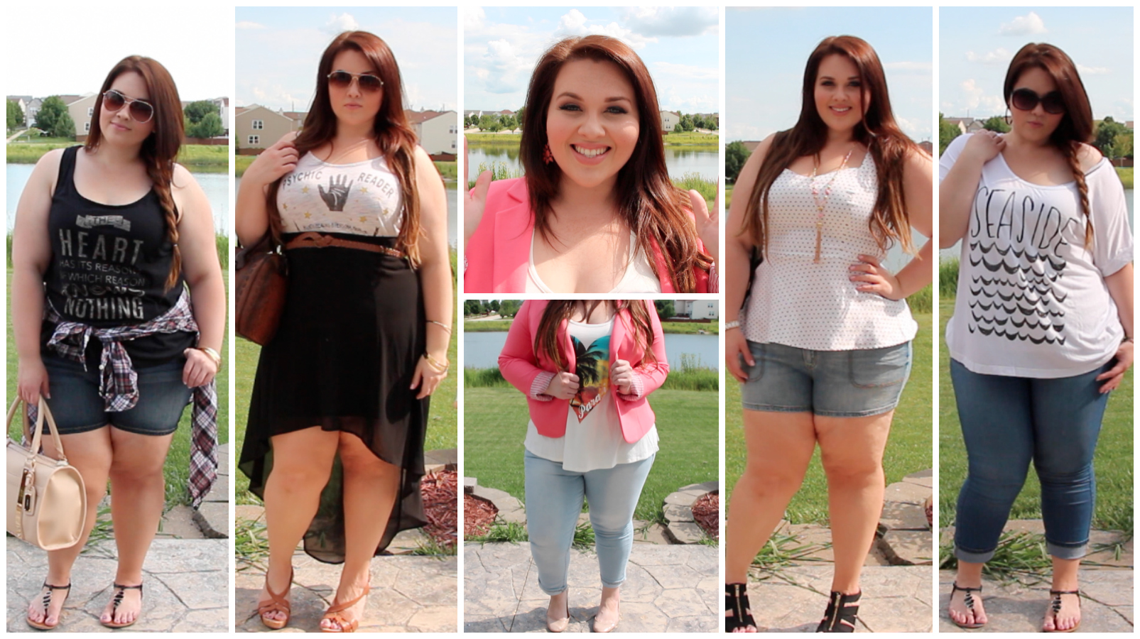 Plus Size Fashion Summer Lookbook