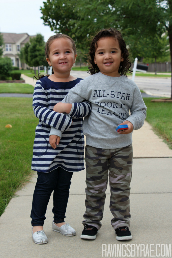 Toddler Outfit of the Day: Boy & Girl Fall Fashion