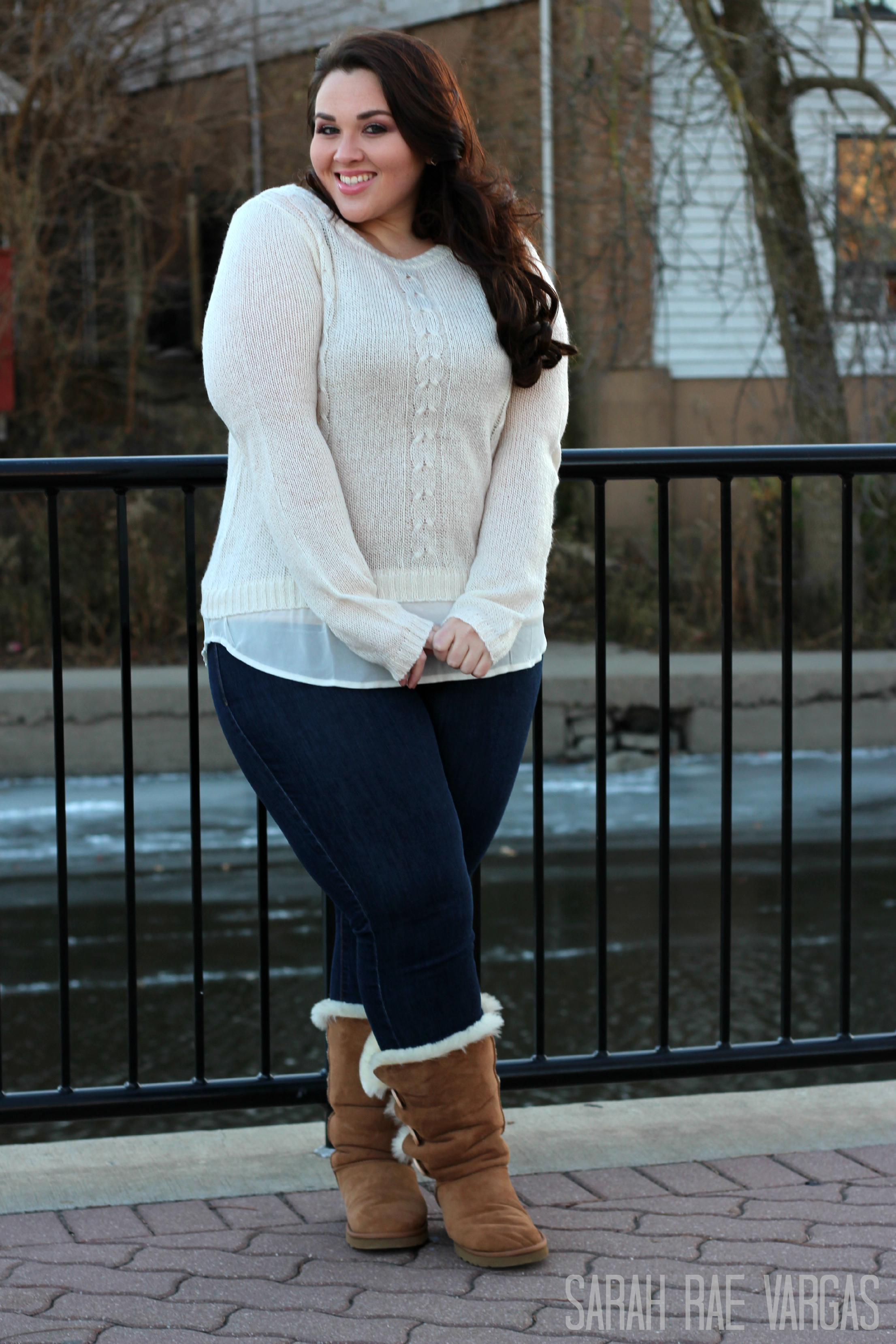 Wide Calf Boots Lookbook [Plus Size Fashion] - Sarah Rae Vargas