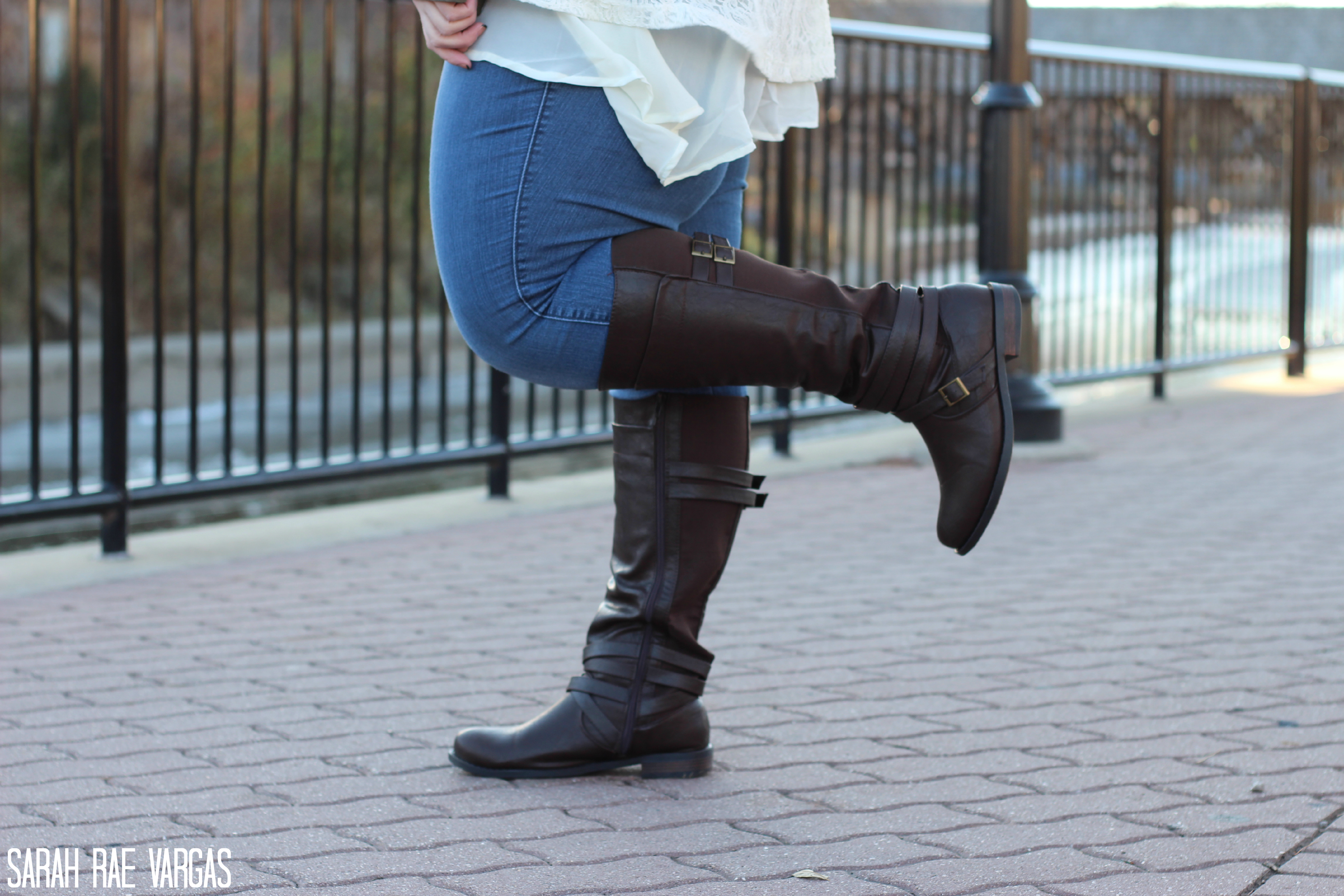 b15b44edf82 Wide Calf Boots Lookbook  Plus Size Fashion  - Sarah Rae Vargas