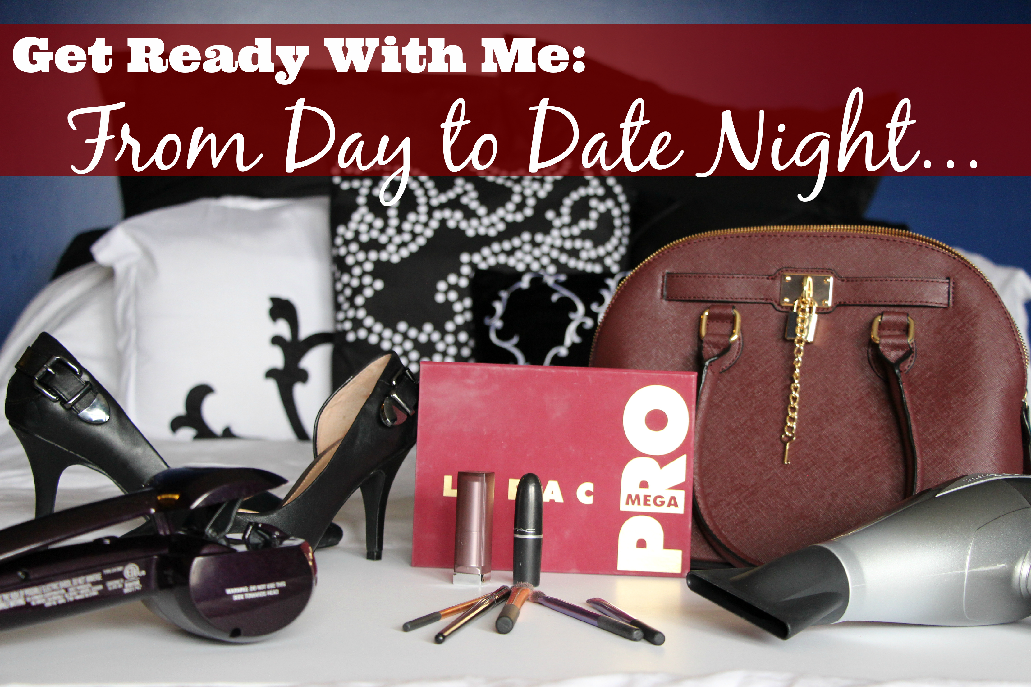 GRWM Day To Date Night Looks [Makeup, Hair Styles, and Outfits] #HearMyHair #shop