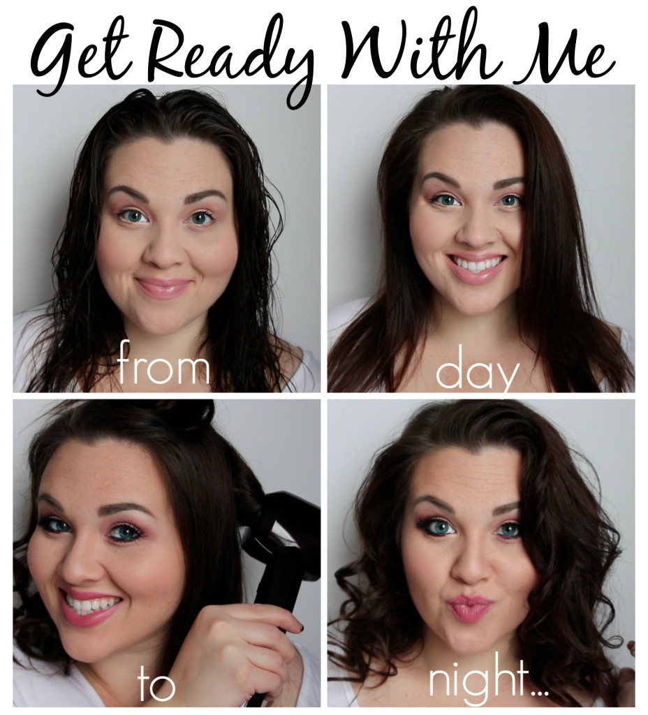 GRWM Day To Date Night Looks [Makeup, Hair Styles, and Outfits] #HeartMyHair #shop