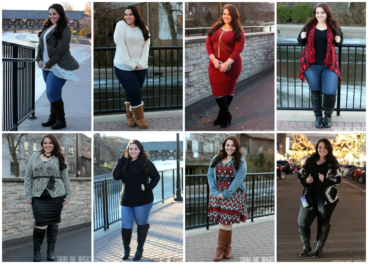 14a1bf8dc29 Wide Calf Boots Lookbook [Plus Size Fashion] - Sarah Rae Vargas