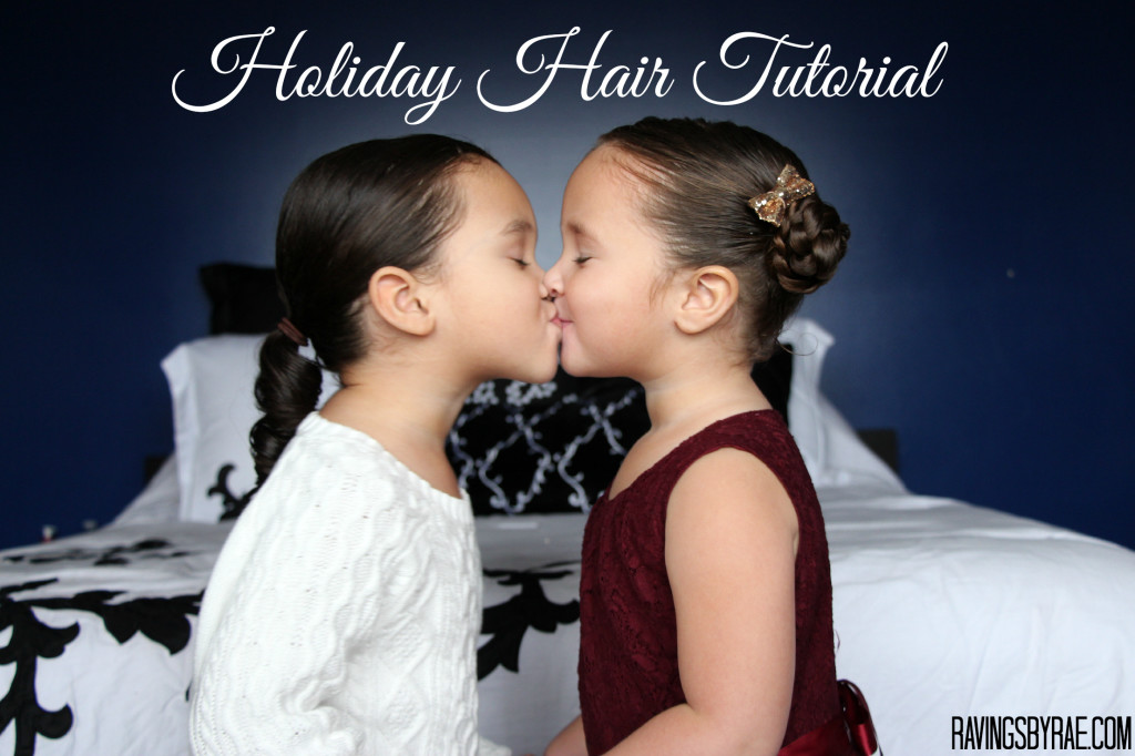 Holiday Hair Tutorial For Kids