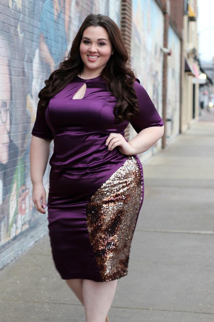 Valentine's Day In Monif C   Plus Size Fashion  