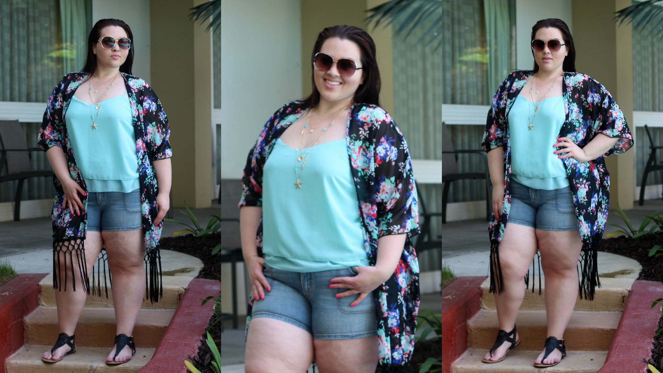 Laid Back Spring Outfit In Charlotte Russe Plus Size Fashion