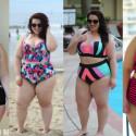 Plus Size Swimwear Lookbook 2015